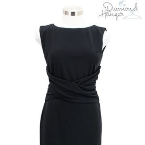 A57 NICOLE MILLER Designer Dress Size Large L 12 B